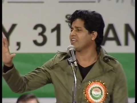 Imran Pratapgarhi Dubai Mushaira 31st. jan.2013 ......Haan mai kashmeer hun.....!!