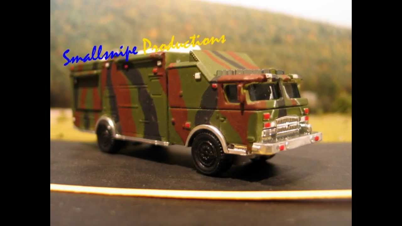 Matchbox Fire CUSTOMS, ARMY, FDNY, WWII - YouTube