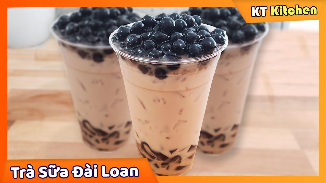 TRÀ SỮA TRÂN CHÂU – Bí Quyết Làm Trà Sữa Trân Châu Đài Loan Để Kinh Doanh || Boba Milk Tea Recipe