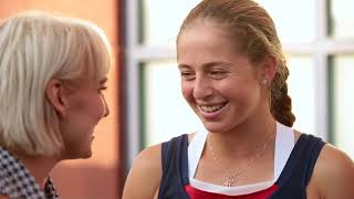 2017 US Open: Inside the US Open with Bethanie Mattek-Sands ft. Jelena Ostapenko