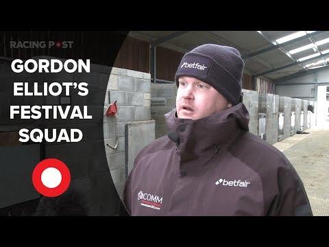Gordon Elliott on his sizeable Cheltenham squad