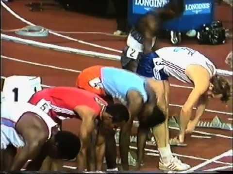 Carl Lewis 100m Zurich 1984