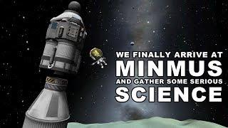 The Minmus Lander finally in action! - KSP Career Playthrough 27