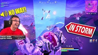 When you get a trickshot...with a MECH in Fortnite!