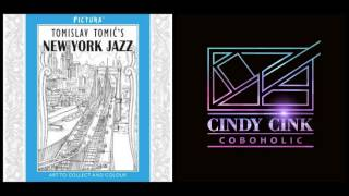 New York Jazz by Pictura 😋 Coloring Book Flip Through