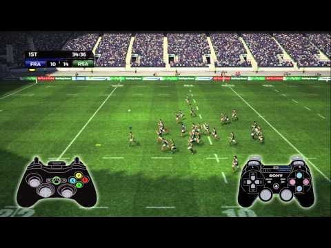 Rugby World Cup Game 2011  Gameplay highlights and features