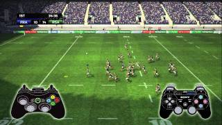 Rugby World Cup Game 2011 - Gameplay highlights and features