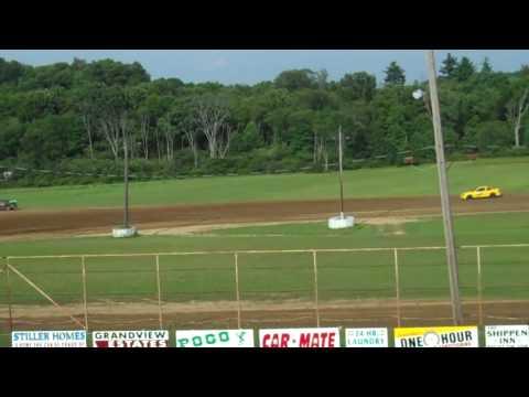 Mini Stock Heat Races