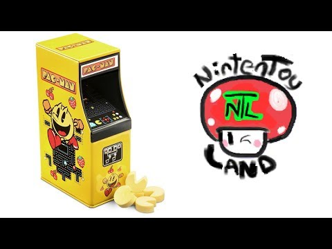 Opening A PAC-MAN ARCADE MACHINE CANDY TIN!