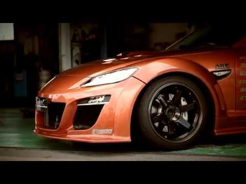 A C E Mazda Rx 8 Promotion Video Autocraft Demo Car Youtube