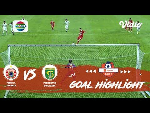 Persija Jakarta (1) Vs (2) Persebaya Surabaya - Goal Highlight | Shopee Liga 1