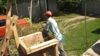 Пресс для сена,соломы и клевера своими руками