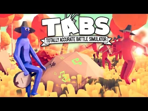 TABS - Dancing Banjo Man and Viewer Suggestions! - Totally Accurate Battle Simulator