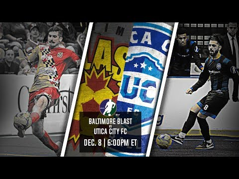 Baltimore Blast vs Utica City FC