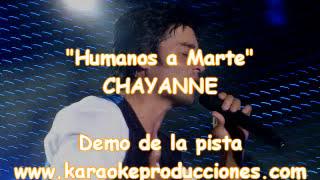 "Chayanne ""Humanos a marte"" DEMO PISTA KARAOKE INSTRUMENTAL"