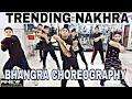 Trending Nakhra - Bhangra Dance Choreography || kids Bhangra Choreography || Amrit Maan || Anew