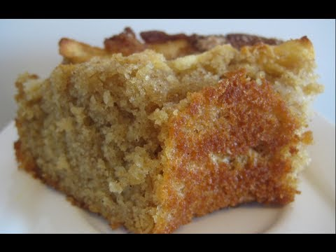 How to make apple cake from scratch youtube for How to make cake batter from scratch