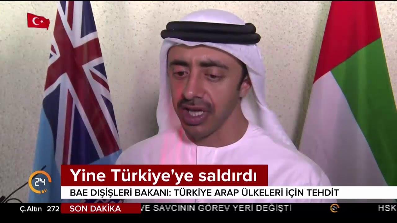 BAE'li küstah bakan yine Türkiye'ye saldırdı