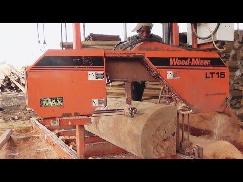 Wood-Mizer sawmills in Ghana, Africa