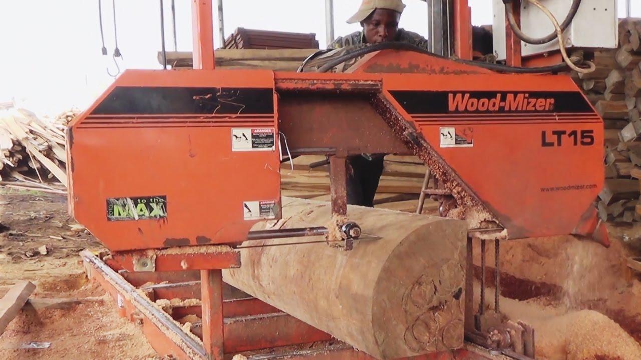 Wood-Mizer sawmills in Ghana, Africa - Wood-Mizer Africa HQ