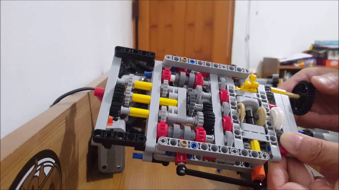 42056 gearbox issue - YouTube