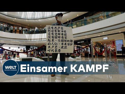 KOMMUNISTISCHES SICHERHEITSGESETZ: 47 Demokratie-Aktivisten in Hongkong angeklagt