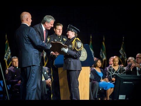 Mayor de Blasio Delivers Remarks at NYPD Graduation Ceremony