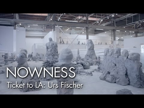 """Urs Fischer"" in association with MOCAtv"