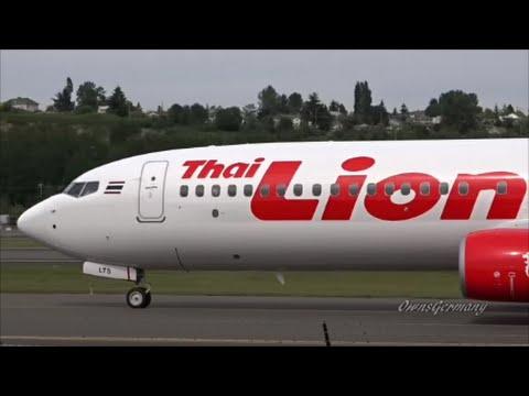 Thai Lion Air Boeing 737-900ER HS-LTS Quick Test Flight B4 Delivery