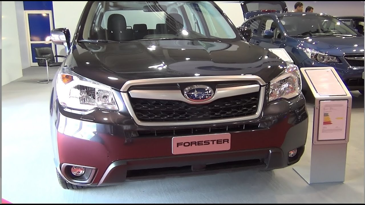 subaru forester 2.0i cvt lineartronic exterior and interior in full