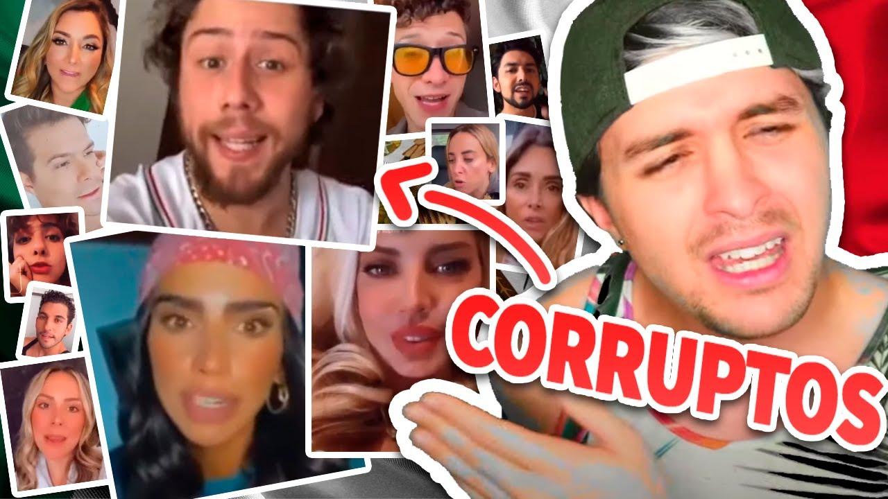 100+ influencers mexicanos CORRUPTOS ⛔️ Tomaron dinero de TUS IMPUESTOS para engañarte