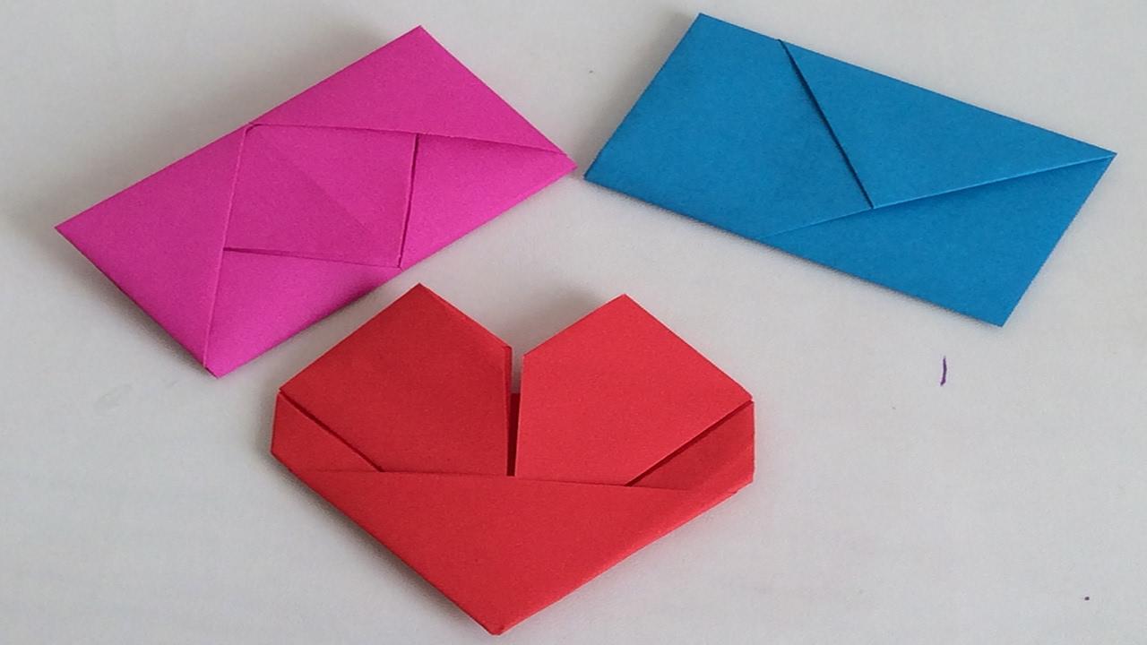 Como Doblar Cartas Como Doblar Hojas Para Regalar San Valentin 14 De Febrero Youtube