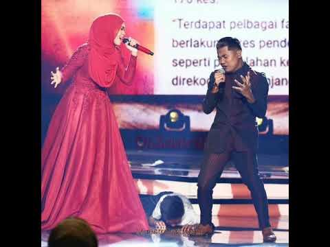 Lan Kristal & Siti Nordiana - Naluri Cinta (Gegar Vaganza 4) HQ Audio with lyrics