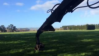 Timbco 820 forwarder.  A bit of this and a bit of that