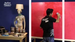 Imitación Mármol en pared