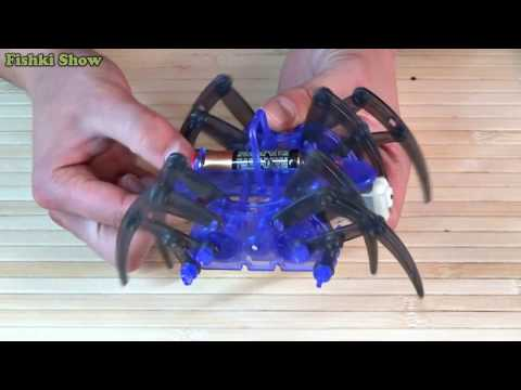 How to Make a Spider Robot DIY Electric Toy