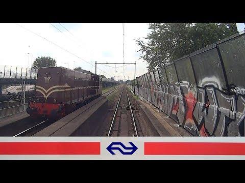 CABVIEW HOLLAND Utrecht - Rotterdam VIRM 2017