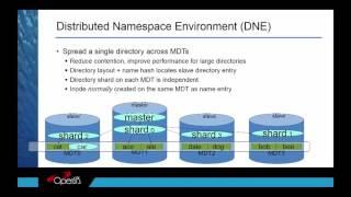 Disruptive Technology, OpenSFS Reloaded