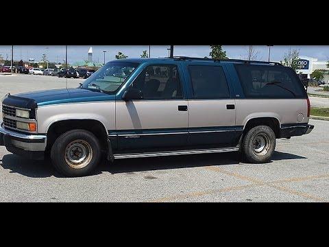 1993 Chevy Suburban Youtube