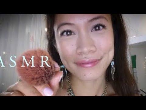ASMR Doing Your Face w/ European Makeup! @TheMakeupCounter ~ Lumene Finland