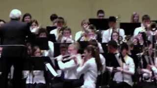 Brad Arnold, MSBOA Honors Band 2013, Western Michigan University