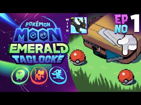 ALOLA POKEMON IN HOENN?! | Pokémon Moon Emerald Taglocke EP01 w/ FeintAttacks!