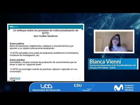 Charla Interdisciplina en Investigación - Bianca Vienni