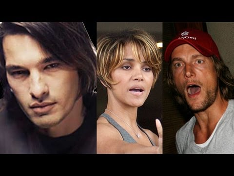 Gabriel Aubry & Olivier Martinez Fist FIGHT at Halle Berry's House