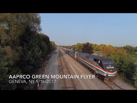 AAPRCO Green Mountain Flyer at Geneva, NY - Drone flyby.