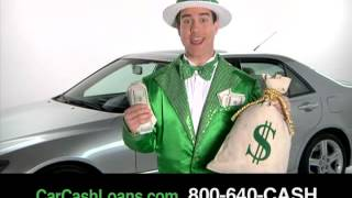 CAR CASH LOANS commercial for auto title loans