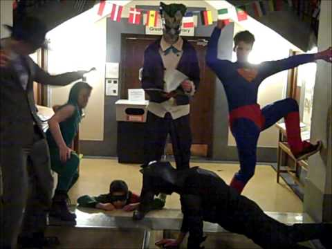 The Justice League - Woody Entertains 2014