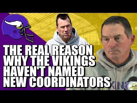 Conspiracy Theory: REAL Reason Why Vikings Haven't Named Coordinators