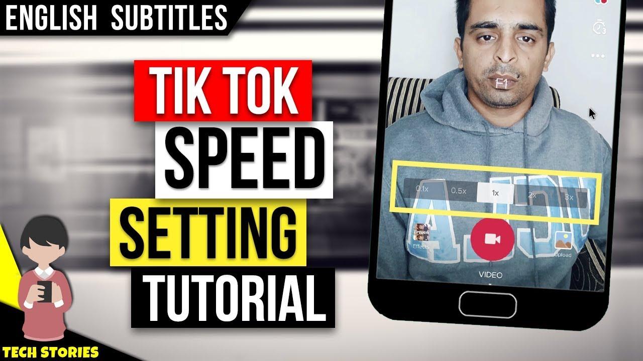 Tik Tok Speed Setting Tutorial How To Set Speed Youtube