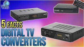 Digital TV Converters: 5 Fast Facts